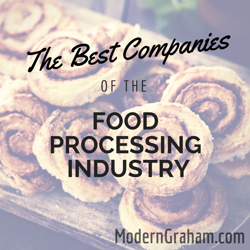 Best Companies of the Food Processing Industry