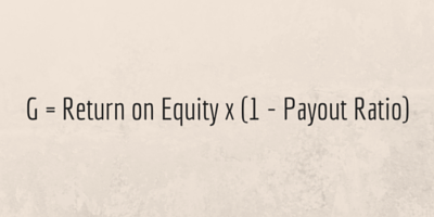Payout Ratio and ROE Formula