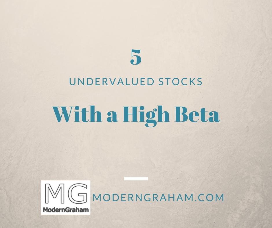 High beta stocks with weekly options