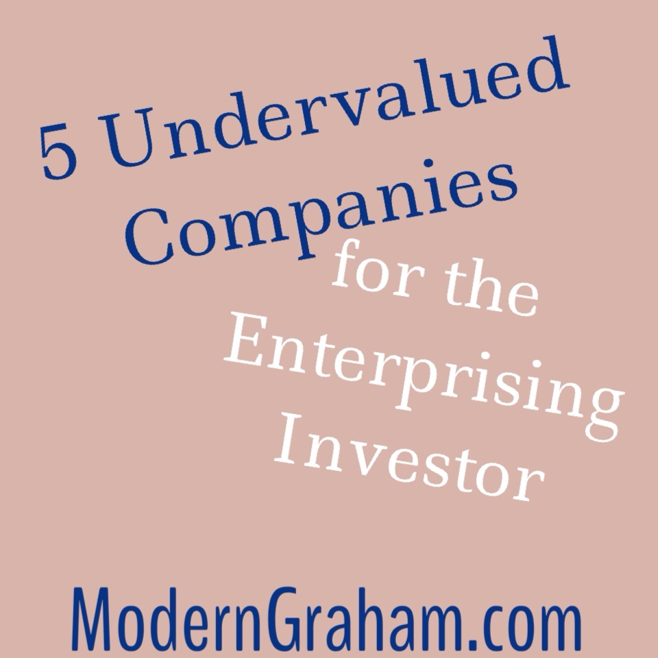5 Most Undervalued Companies for the Enterprising Investor – May 2015