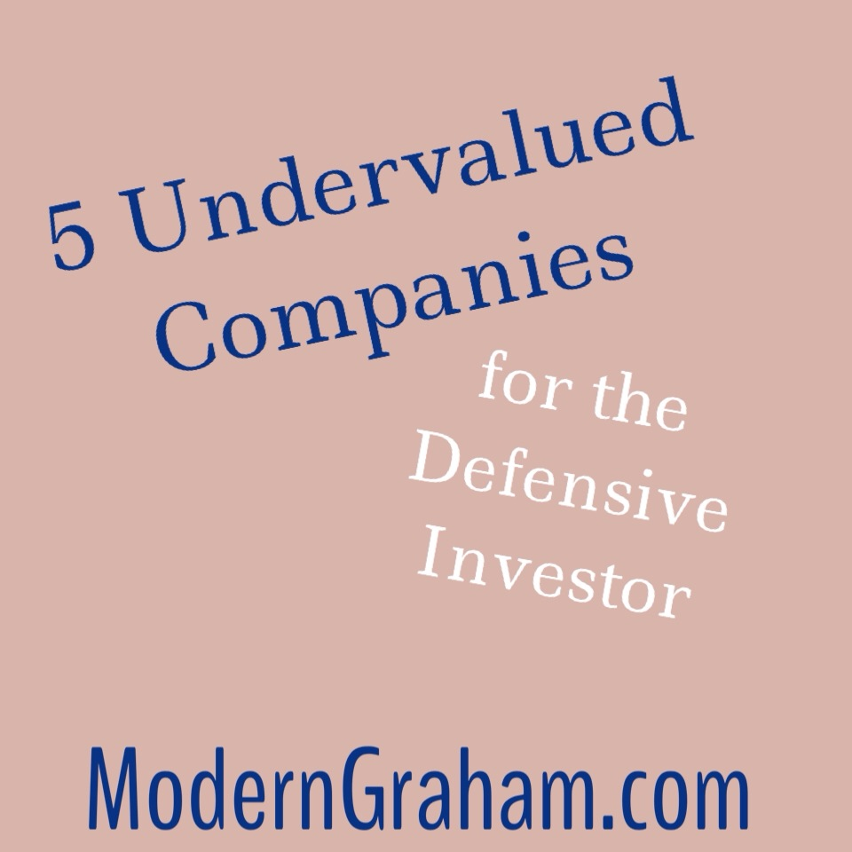 5 Undervalued Companies for the Defensive Investor – April 2014