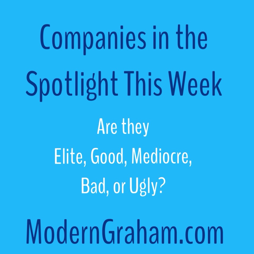 30 Companies in the Spotlight This Week – 5/23/15