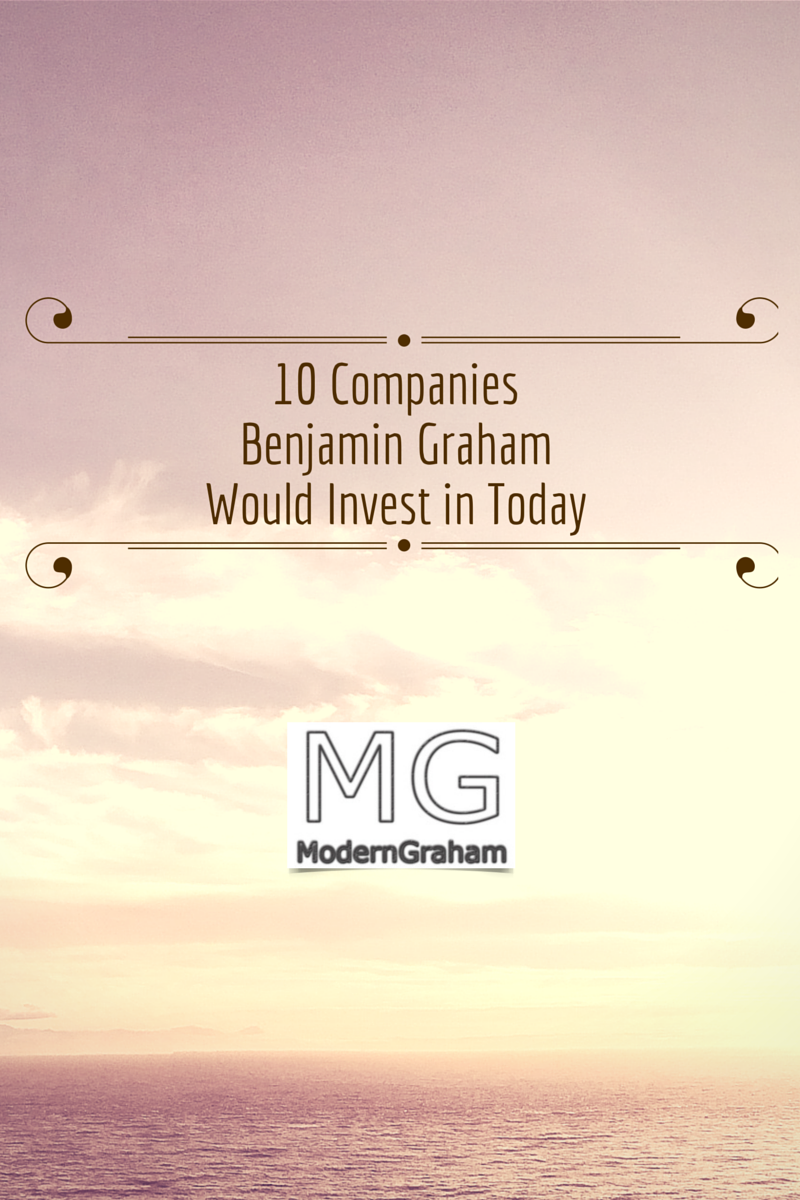 10 Stocks for Using A Benjamin Graham Value Investing Strategy – March 2019