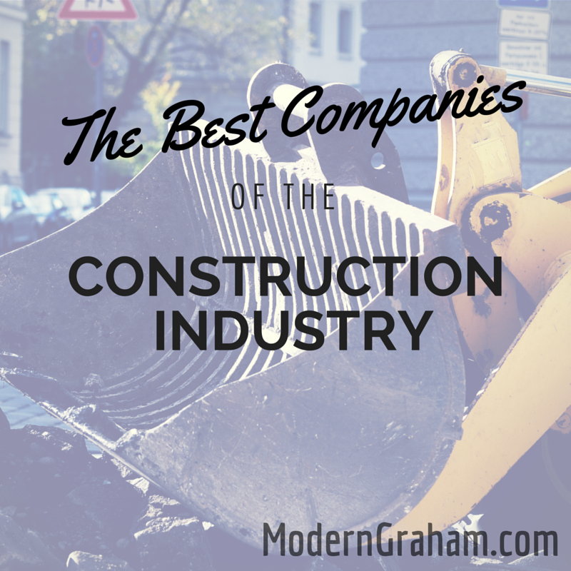 The Best Companies of the Construction Industry – October 2015