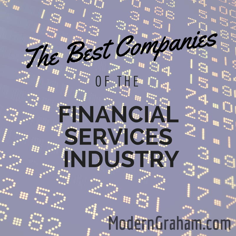 The Best Stocks of the Financial Services Industry – September 2015