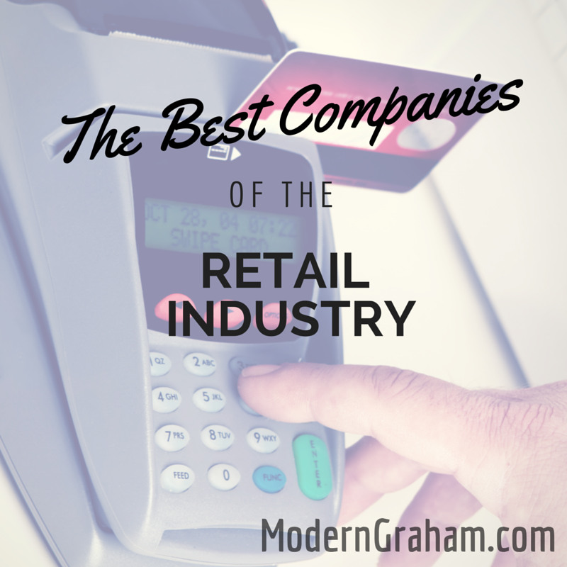 The Best Companies of the Retail Industry – August 2015