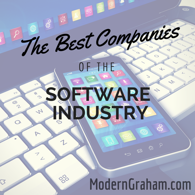 The Best Companies of the Software Industry – August 2015
