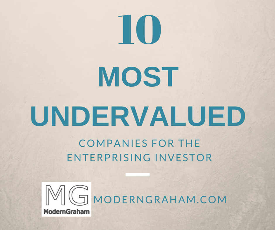 10 Undervalued Stocks for the Enterprising Investor – August 2017
