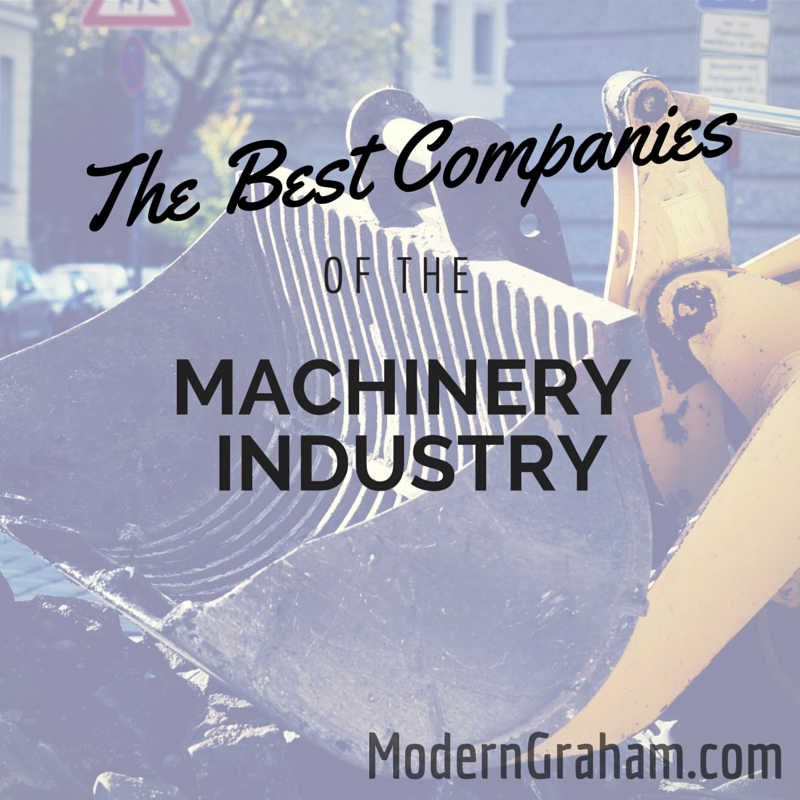 The Best Companies of the Machinery Industry – August 2015