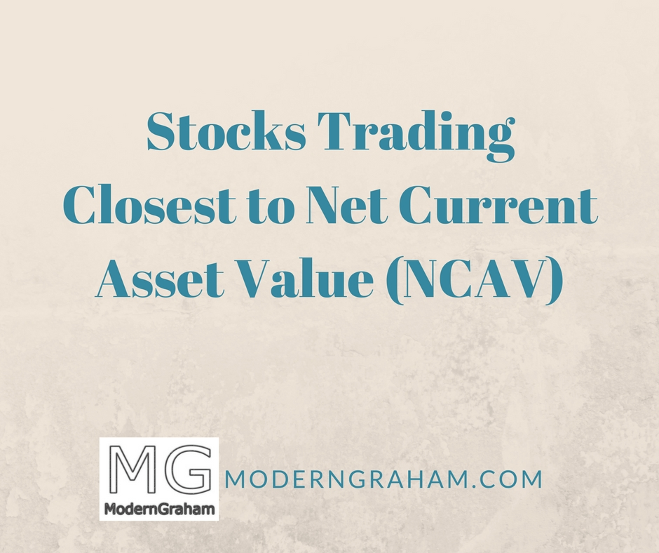 Stocks Trading Closest to Net Current Asset Value – April 2017