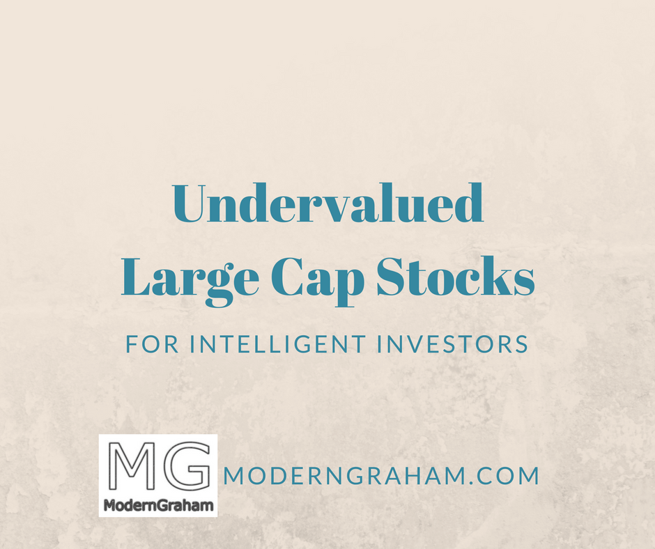 5 Undervalued Large Cap Stocks for Value Investors – August 2017
