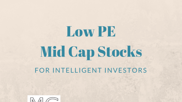 5 Low PE Mid-Cap Companies – March 2019